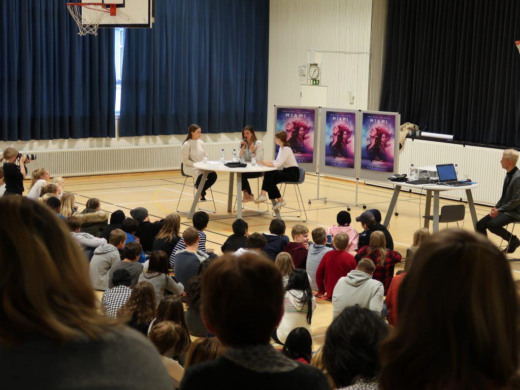 Krista Kosonen vieraili koulullamme