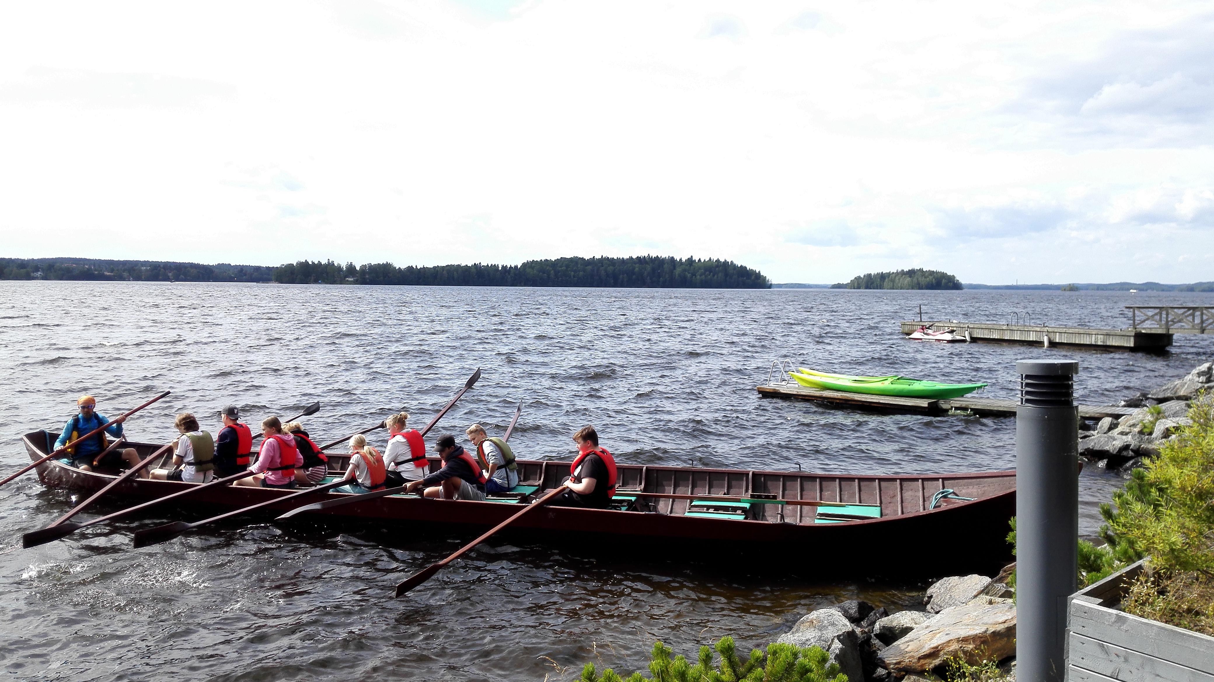Ysien leirikoulussa Tampereella