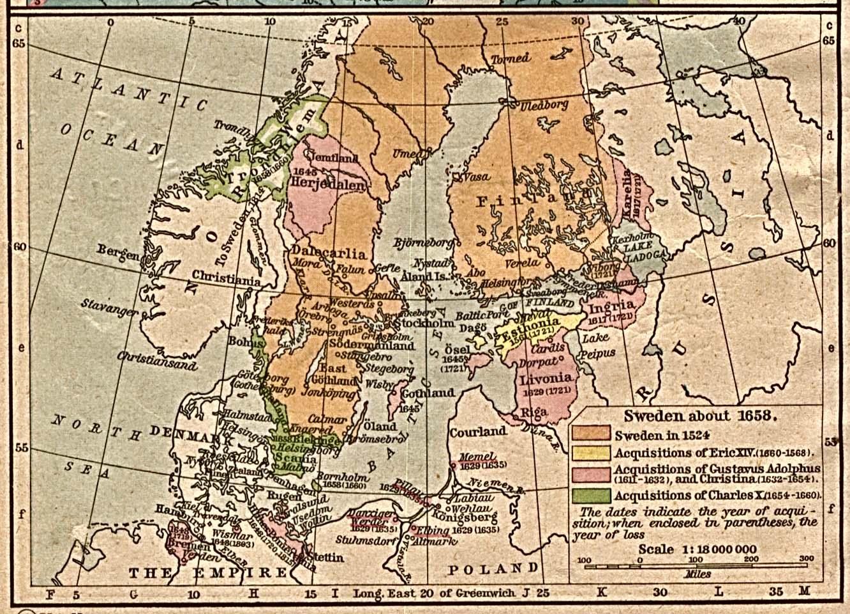 Historian opettajana ruotsin tunnilla