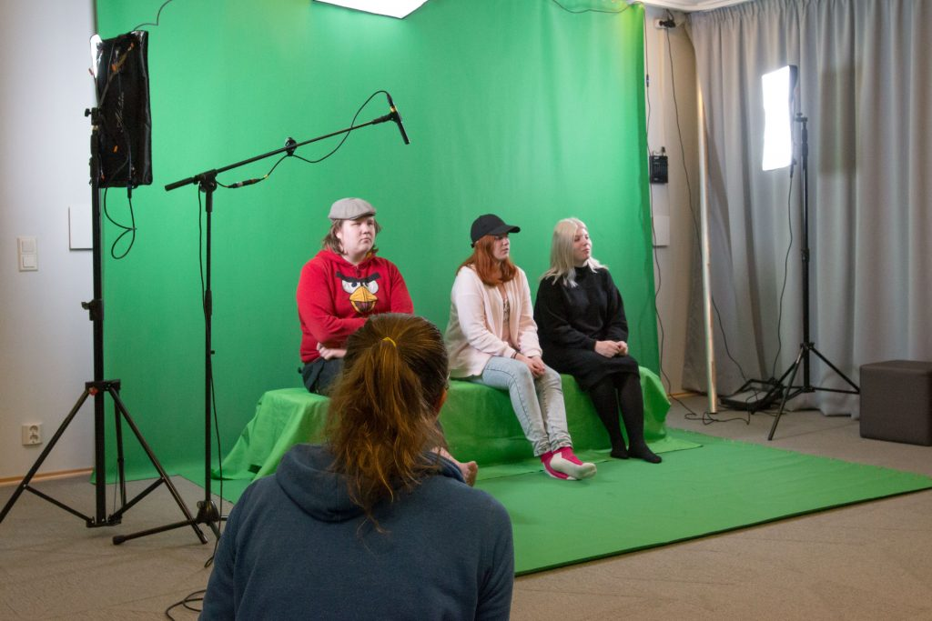 innoluokka - green screen studio
