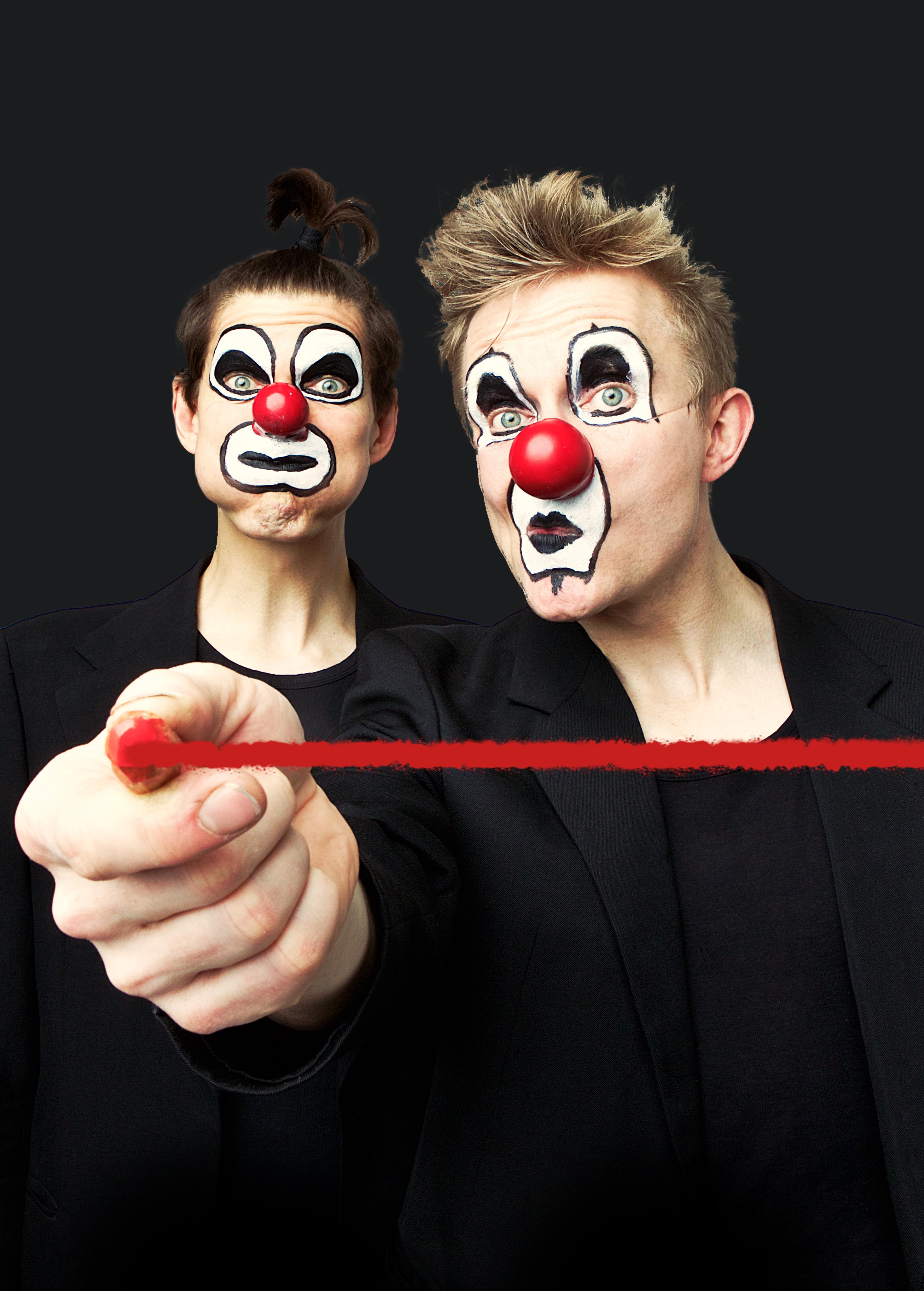 Red Nose Companyn Punainen viiva Maunula-talolla